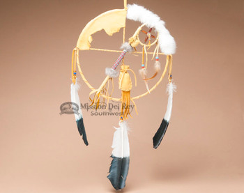 Navajo Medicine Wheel Talking Stick Combo