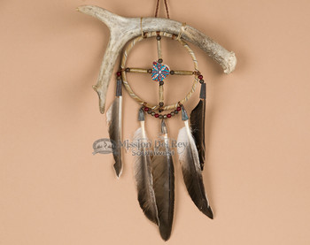 Medicine Wheel and Antler Combo