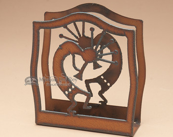 Metal Napkin Holder - Kokopelli