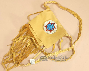 Native American Deer Skin Medicine Bag