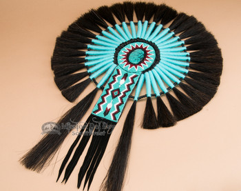 Turquoise Stone Native American Dance Bustle
