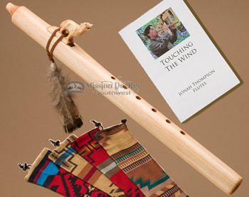 Native American Flute Wolf
