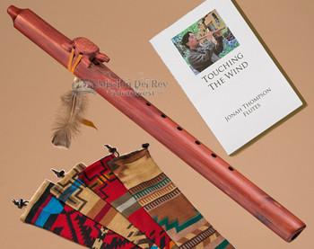 Native American Cedar Flute Turtle