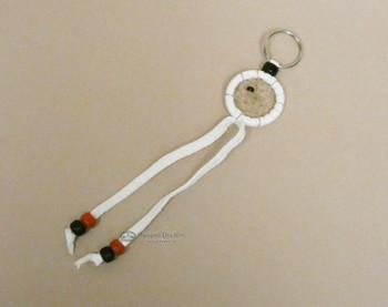 White Navajo Dreamcatcher Key Chain