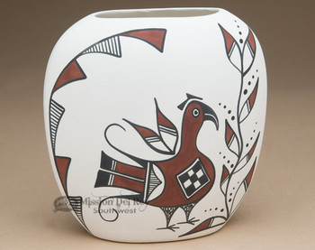 Native American Pueblo Indian Pottery Pillow Vase