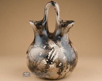 Horsehair Wedding Vase - Butterfly