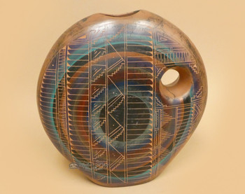 Navajo Indian Pillow Vase