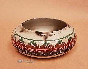 Navajo Horse Hair Bowl -Navajo