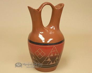 Sioux Wedding Vase - Red Glaze