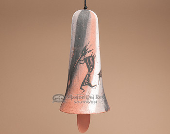 "Native American Rustic Navajo Wind Bell 11"" -Rock Art (105)"