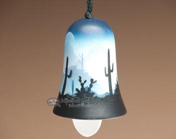 Southwestern pottery wind bell.