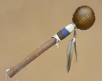 Native American Rawhide Rattle