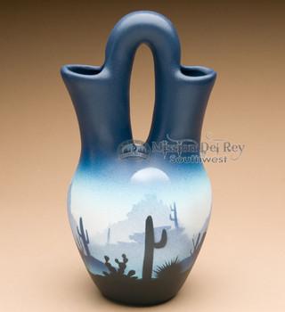 Wedding vase pottery - Navajo