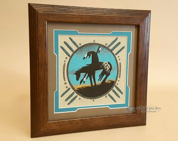 Southwestern Sand Painted Wall Art