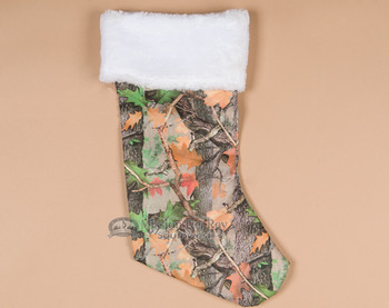 Christmas stocking - Camo
