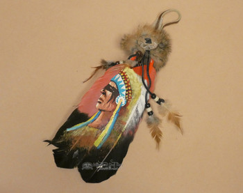 Hand Painted Smudging Feathers