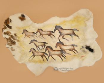 Painted Hide - Horses
