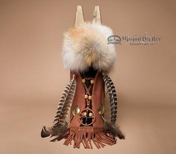 Native American Cradleboard -Tobacco