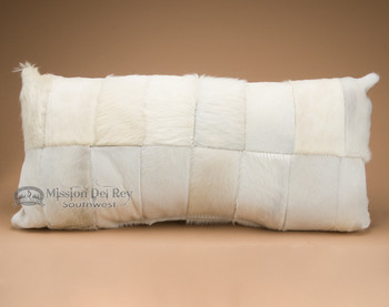 """Patchwork Cowhide Western Pillow 30"""""""