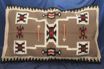Southwest Wool Pillow Cover 20x32 -Storm