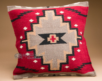 Hand Woven Wool Pillow Cover