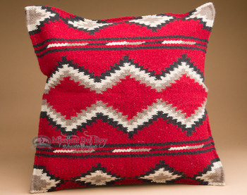 Southwest Design Wool Pillow Cover