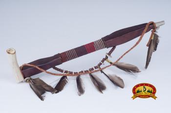 Navajo Antler Bowl Peace Pipe