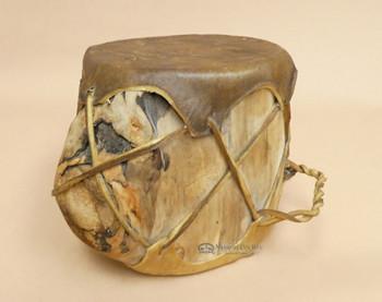 Rustic Aspen Tree Rawhide Hand Drum