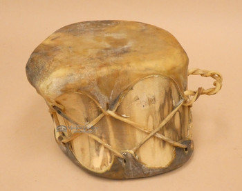 Southwest Style Log Drum - Hand Drum