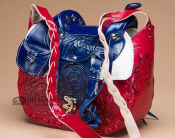 American Style Saddle Purse
