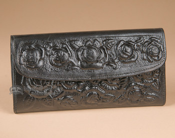 """Leather Wallet Clutch 7.5"""""""