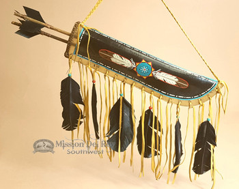 Rawhide Quiver Painted