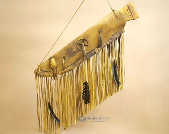 Old Style Native American Rifle Case Wall Hanging