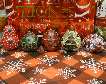 Gourd Christmas Ornaments