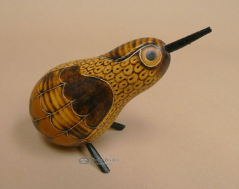 Hand Etched Andean Bird