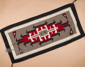 Navajo Style Handwoven Wool Rug