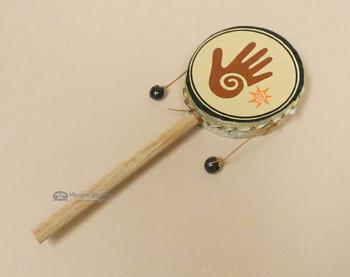 Andean Spinner Drum-Healing Hand