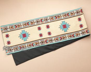 Southwest tapestry quality woven table runner. (Hopi)