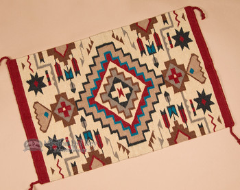 Woven Southwestern Tapestry Rug 24x36 (2436826)
