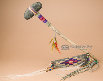 Vintage Style Lakota Sioux Tomahawk and Shield