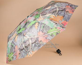 Rustic Camo Designer Umbrella