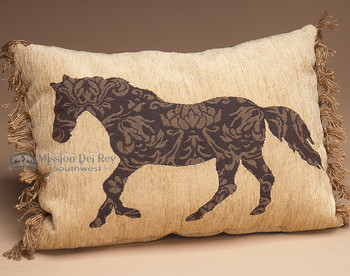Rustic Western Ranch Designer Pillow 12x16