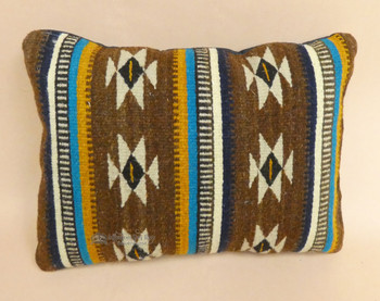 Zapotec Indian Southwest Wool Pillow