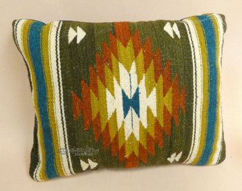 Zapotec Woven Wool Throw Pillow