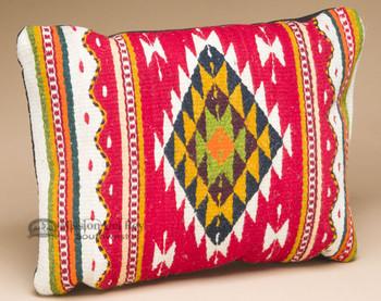 Zapotec Hand Woven Wool Pillow