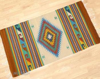 Zapotec Indian Wool Area Rug