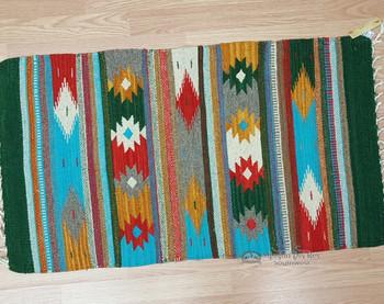 Zapotec Indian wool rug