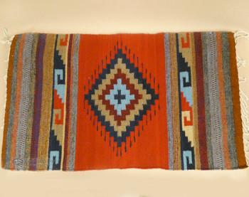 Handwoven Wool Zapotec Rug