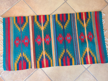 """Oaxaca Zapotec Floor Runner 30""""x60"""""""