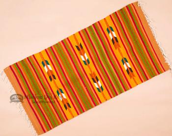 Southwestern Zapotec Indian Rug 30x60